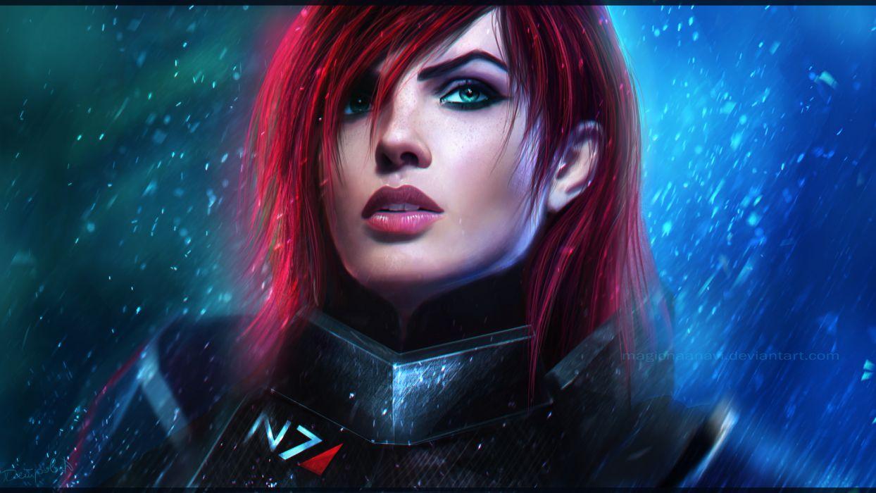 Mass Effect 3 - Female Shepard wallpaper