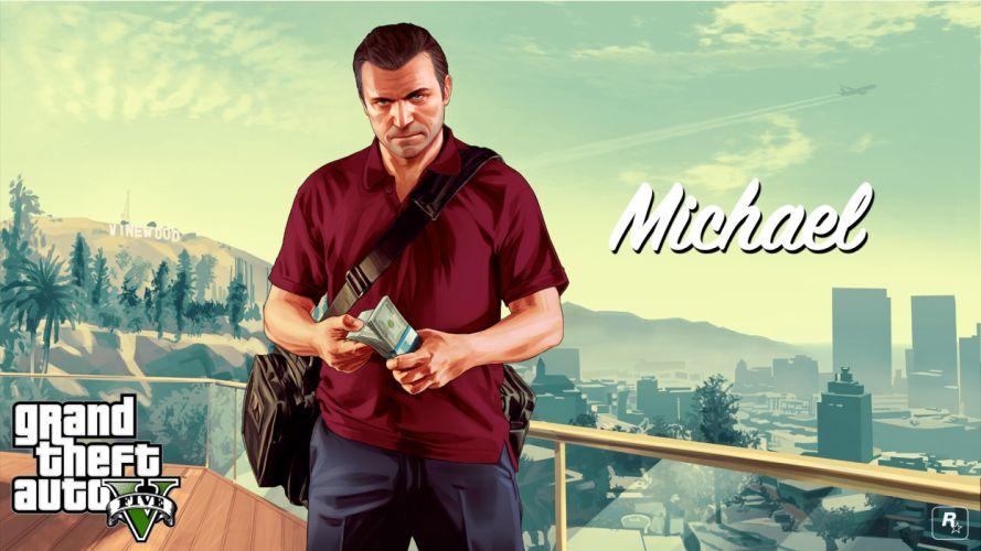 Grand Theft Auto V - Michael wallpaper
