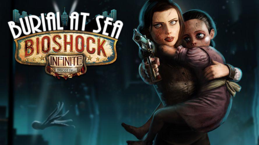 Bioshock Infnite: Burial at Sea wallpaper
