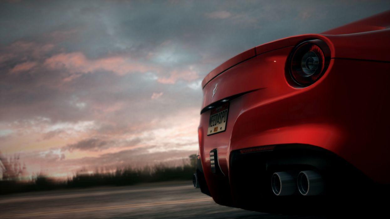 NFS Rivals - Ferrari F12 Berlinetta wallpaper