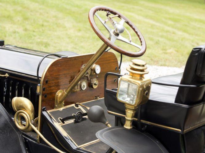 1910 Peerless Model-29 Victoria Landau Brewster retro luxury interior h wallpaper