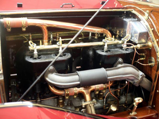 1910 Simplex Model-50 Touring Holbrook retro engine g wallpaper