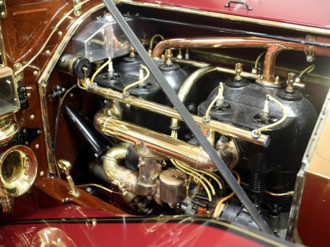 1910 Simplex Model-50 Touring Holbrook retro engine g wallpaper