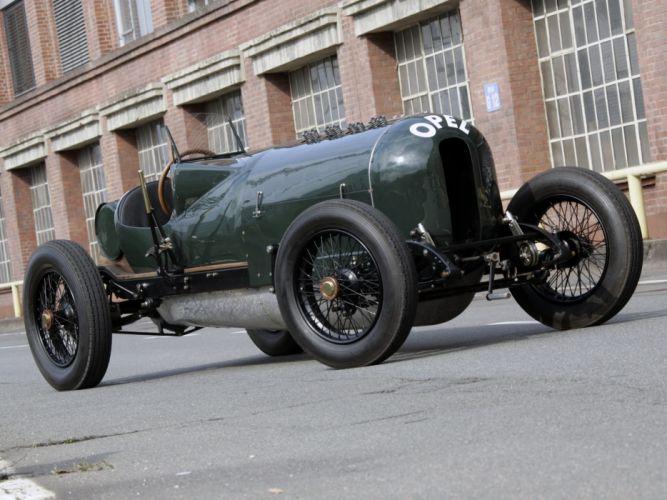 1913 Opel Rennwagen Grunes Monster race racing retro f wallpaper