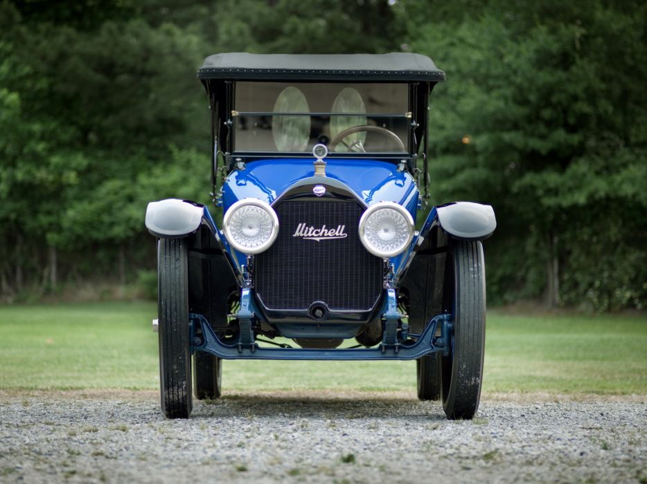 1915 Mitchell Light Six 6-passenger Touring retro   h wallpaper