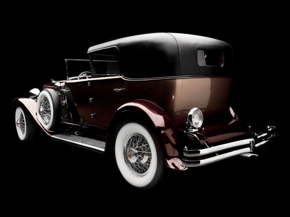 1930 Duesenberg Model-J 381-2401 TownCar LWB Murphy luxury retro       g wallpaper