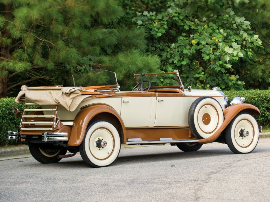1930 Packard Standard Eight Sport Phaeton (733-431) retro luxury   d wallpaper