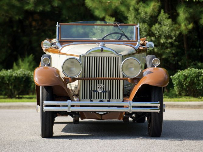 1930 Packard Standard Eight Sport Phaeton (733-431) retro luxury d wallpaper