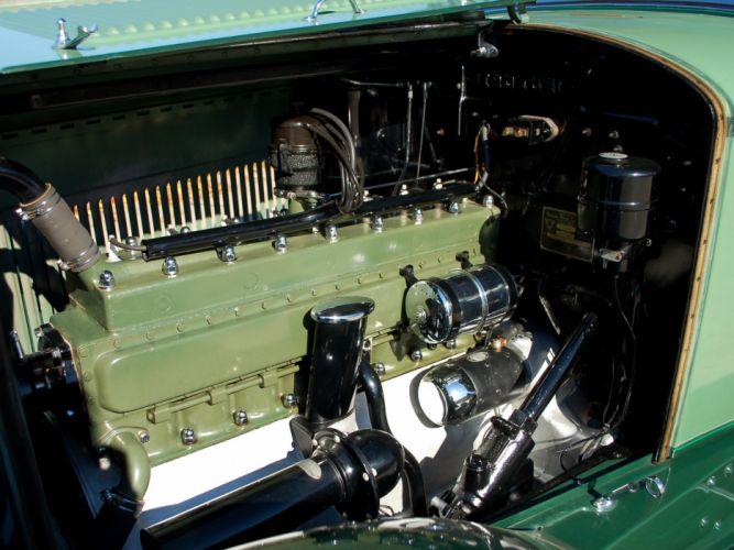 1930 Packard Standard Eight Sport Phaeton (733-431) retro luxury engine d wallpaper