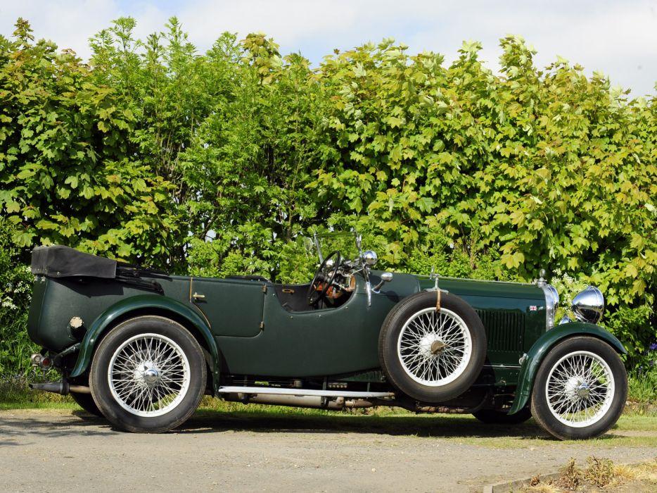 1931 Lagonda 3-Litre Tourer retro   g wallpaper