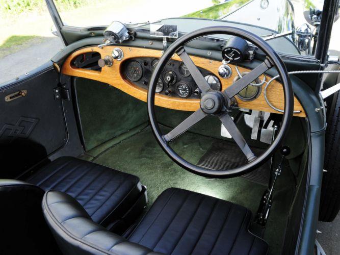 1931 Lagonda 3-Litre Tourer retro interior g wallpaper