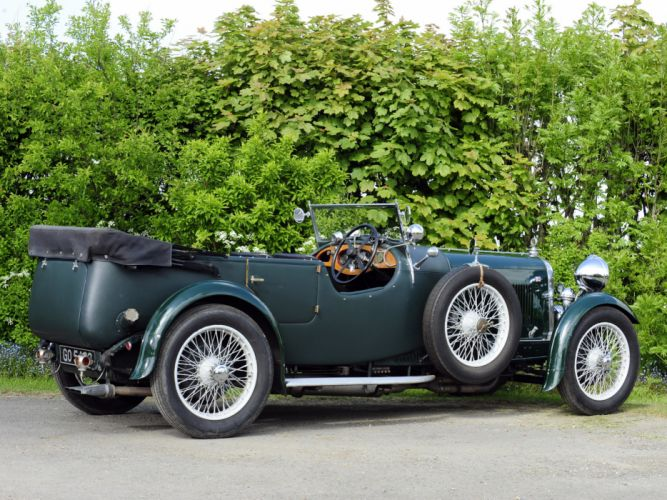 1931 Lagonda 3-Litre Tourer retro f wallpaper
