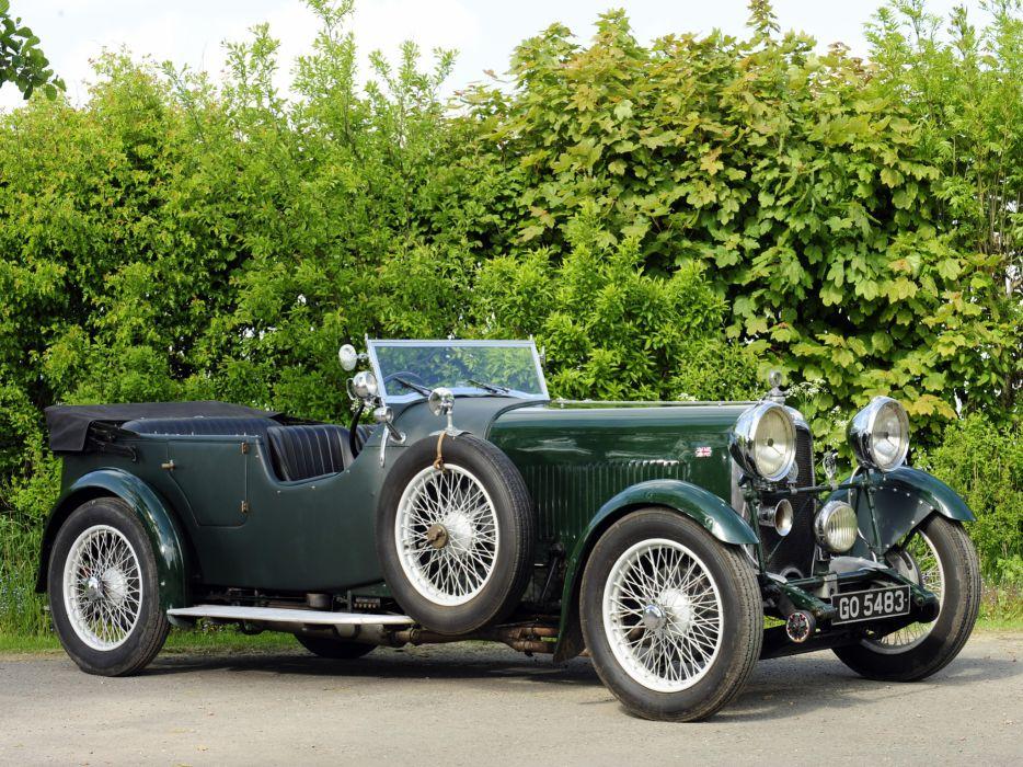 1931 Lagonda 3-Litre Tourer retro  fs wallpaper