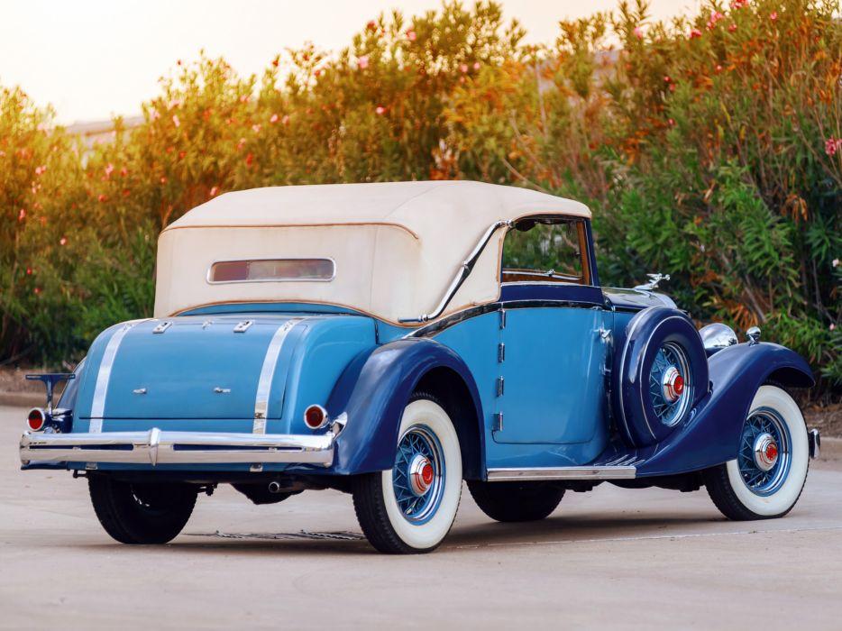 1933 Packard Eight Cabriolet Graber luxury retro   g wallpaper