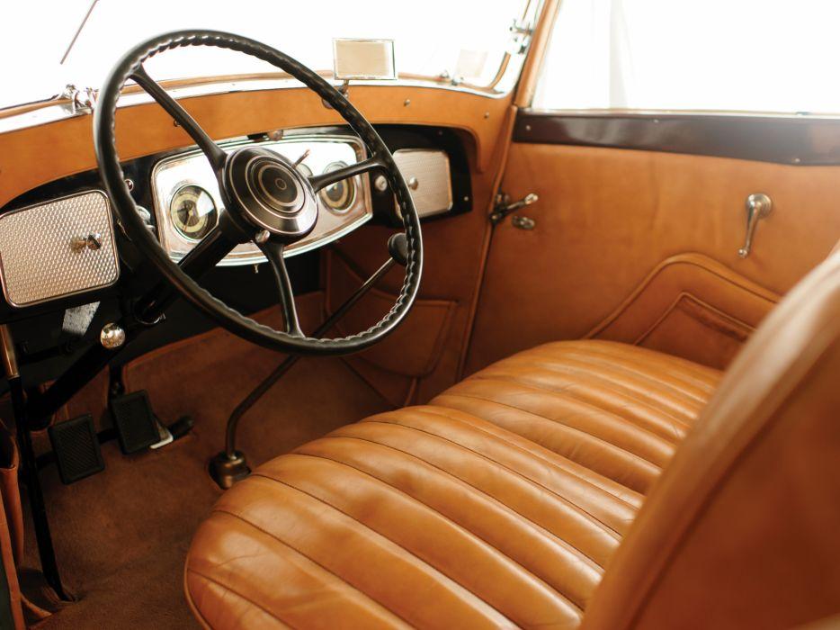 1933 Packard Eight Cabriolet Graber luxury retro interior      g wallpaper
