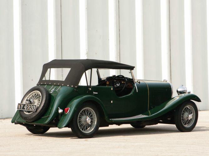 1934 Lagonda 16-80 Tourer retro r wallpaper