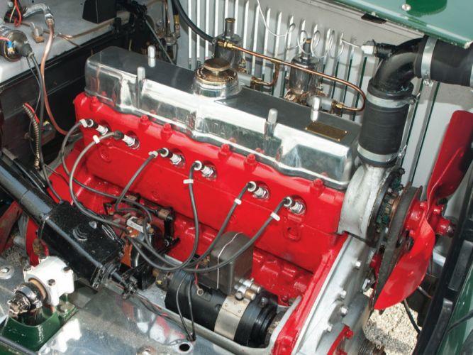 1934 Lagonda 16-80 Tourer retro engine f wallpaper
