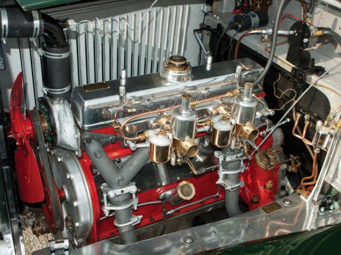 1934 Lagonda 16-80 Tourer retro engine g wallpaper