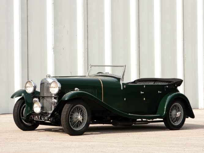 1934 Lagonda 16-80 Tourer retro f wallpaper