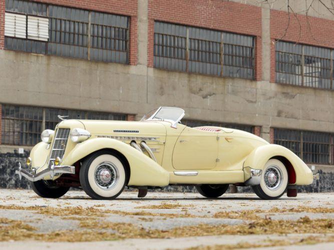 1936 Auburn 852 S-C Speedster retro luxury fb wallpaper