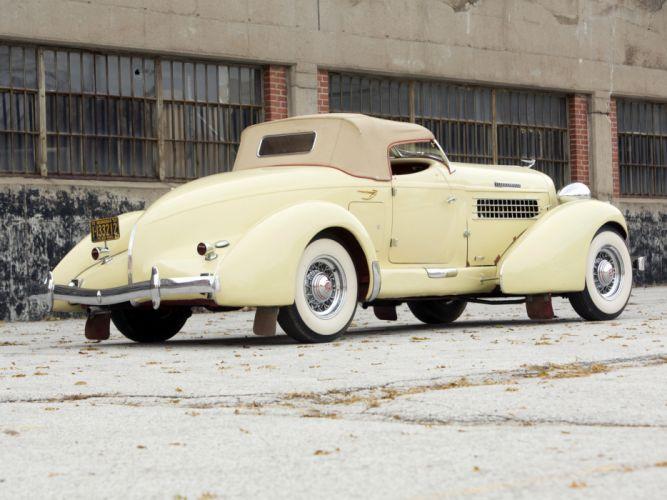1936 Auburn 852 S-C Speedster retro luxury f wallpaper