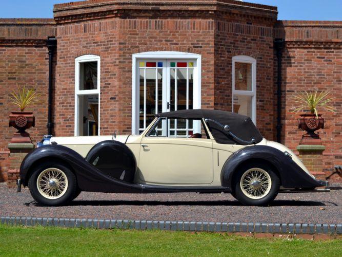 1937 Lagonda LG6 Drophead Coupe retro luxury fs wallpaper