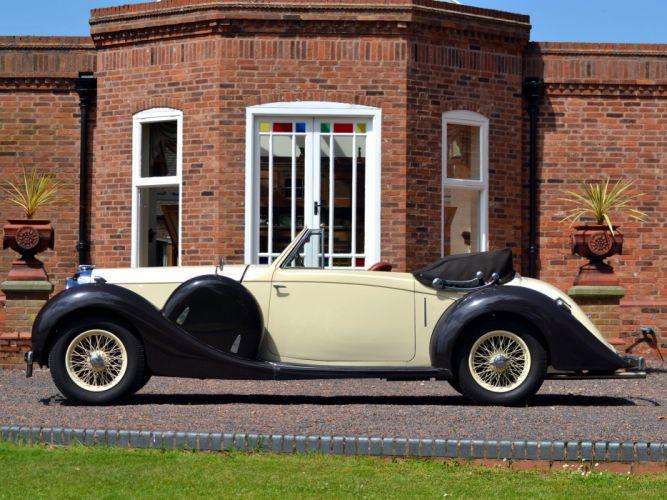 1937 Lagonda LG6 Drophead Coupe retro luxury g wallpaper