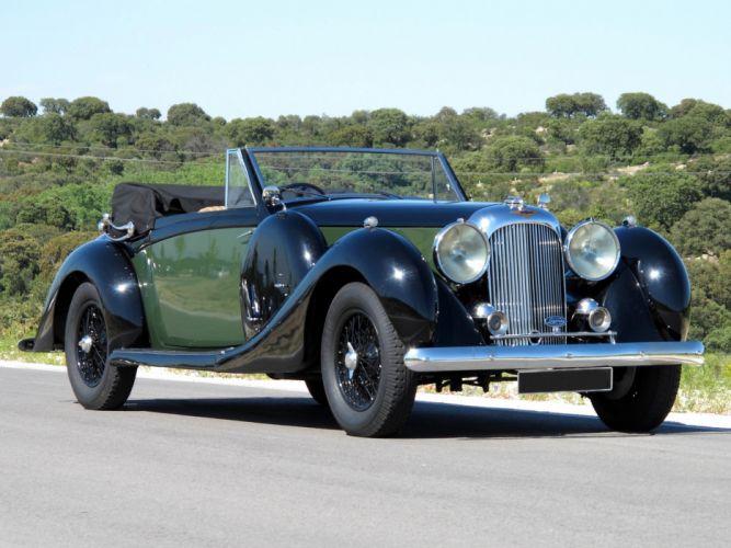 1937 Lagonda LG6 Drophead Coupe retro luxury gd wallpaper