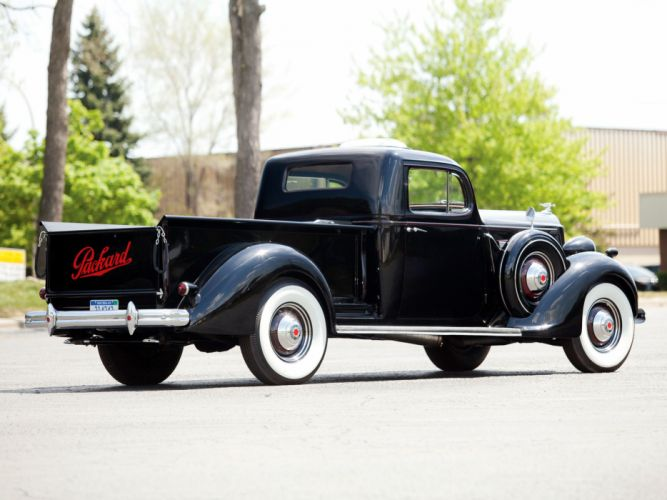 1937 Packard 120 Pickup (138-CD) retro g wallpaper