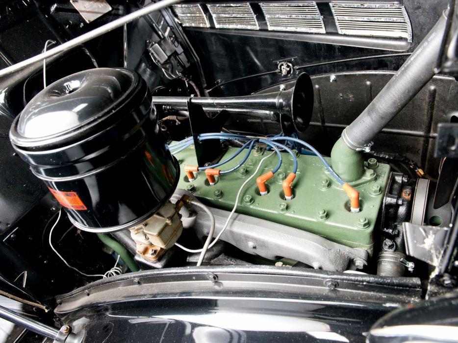 1937 Packard 120 Pickup (138-CD) retro engine  g wallpaper
