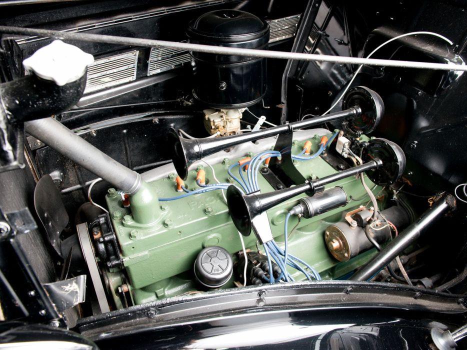 1937 Packard 120 Pickup (138-CD) retro engine    f wallpaper