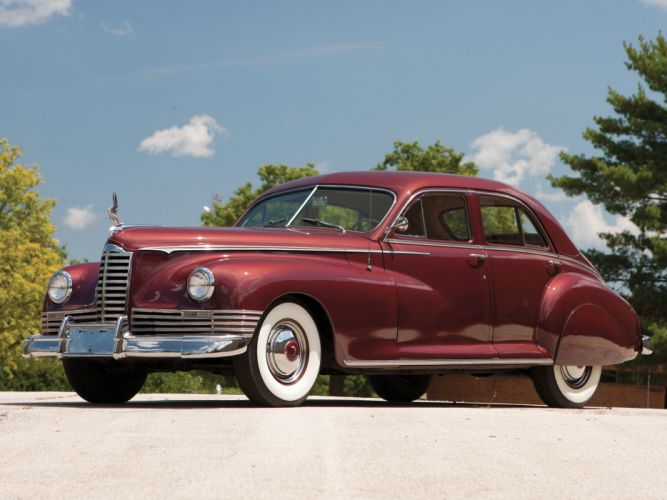 1947 Packard Custom Super Clipper Eight Sedan (2106-2122) luxury retro d wallpaper