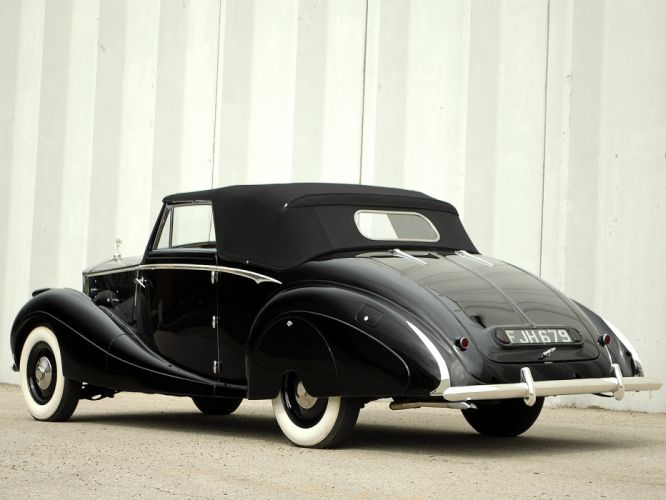 1947 Rolls Royce Silver Wraith Drophead Coupe Franay luxury retro r wallpaper