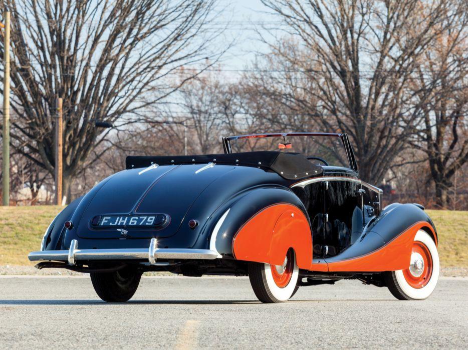 1947 Rolls Royce Silver Wraith Drophead Coupe Franay luxury retro   g wallpaper