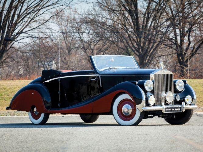 1947 rolls royce silver wraith drophead coupe franay