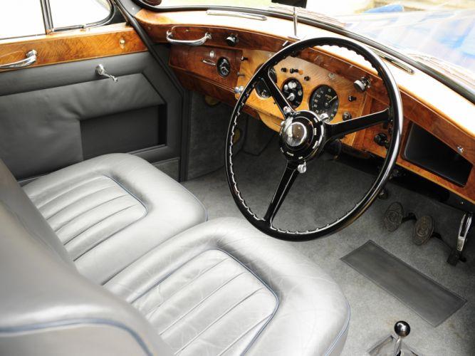 1951 Bentley Mark-VI Coupe Hooper luxury retro interior g wallpaper