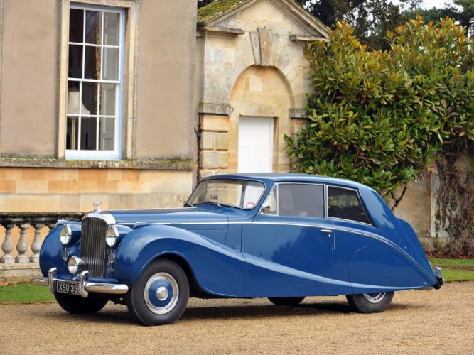 1951 Bentley Mark-VI Coupe Hooper luxury retro f wallpaper