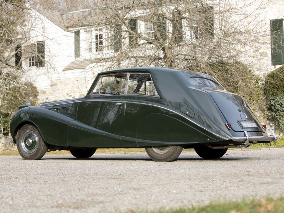 1951 Bentley Mark-VI Coupe Hooper luxury retro   g wallpaper