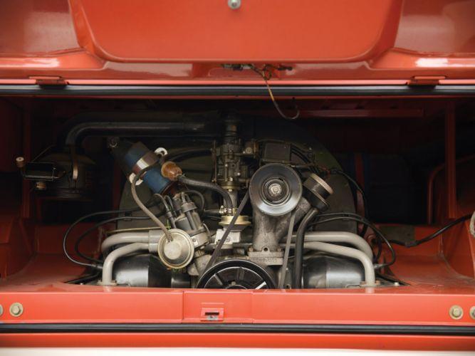 1951 Volkswagen T-1 Deluxe Samba Bus retro engine f wallpaper