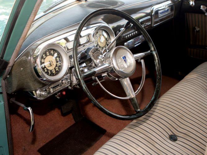 1952 Hudson Commodore Eight Sedan retro interior h wallpaper