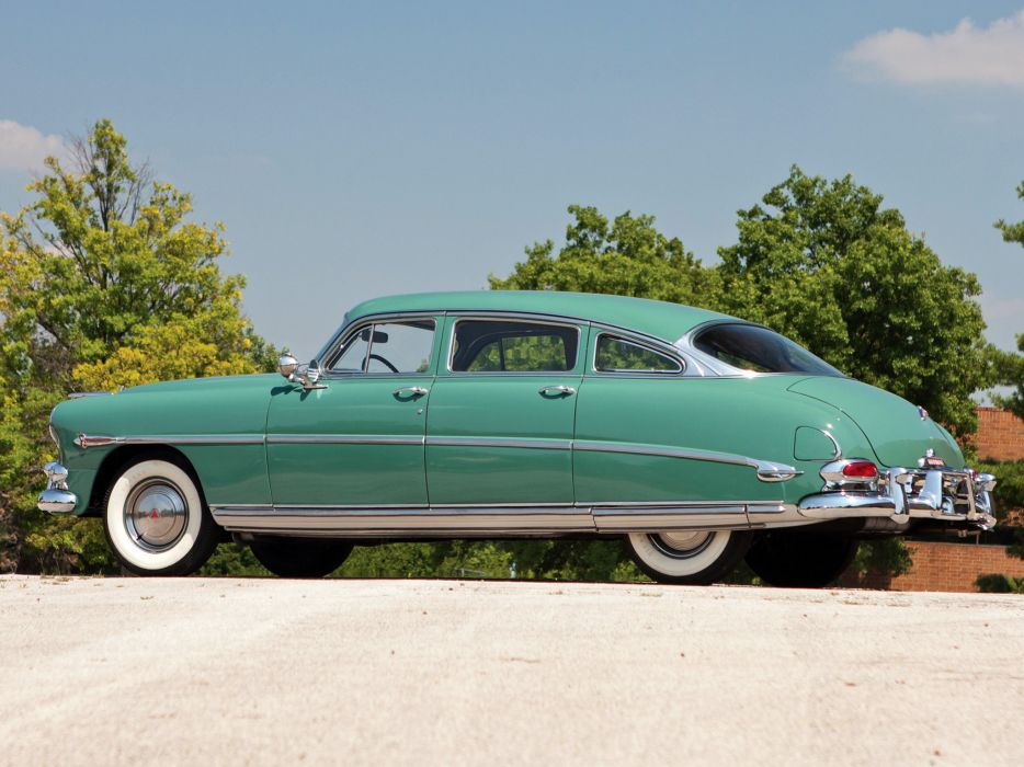 1952 Hudson Commodore Eight Sedan retro   h wallpaper