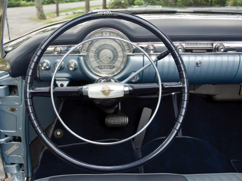 1953 Oldsmobile 98 Fiesta Convertible (3067SDX) retro luxury 9-8 interior    g wallpaper