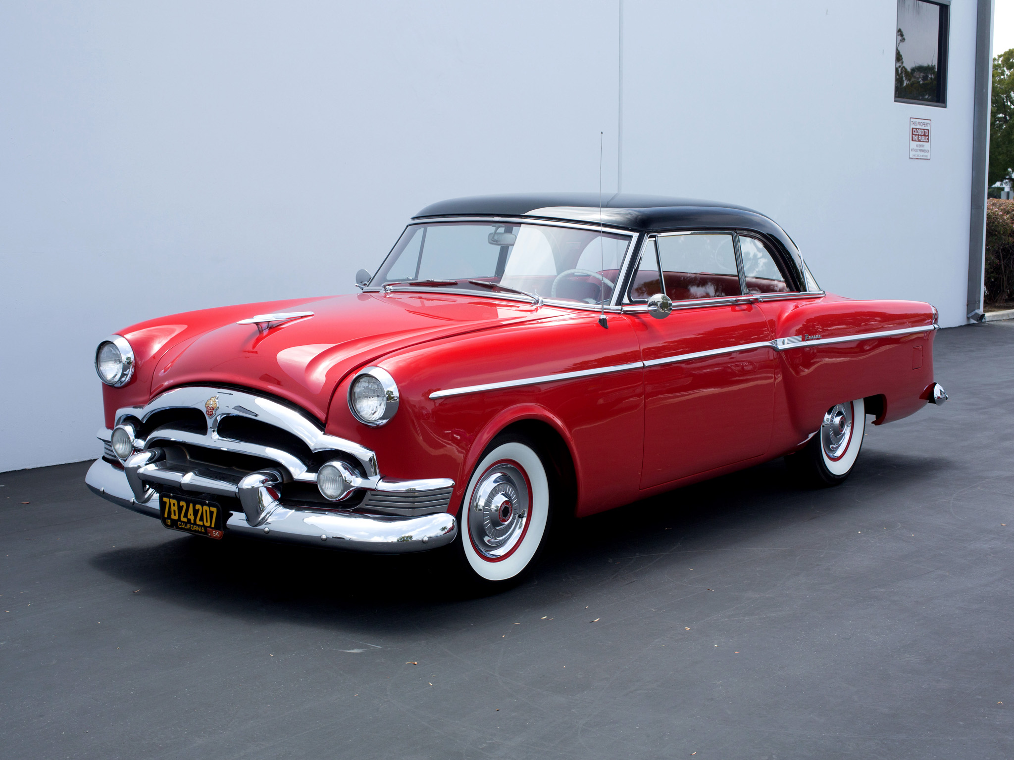 1954 Packard Super Clipper Panama Hardtop Coupe 5411 5467
