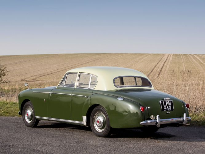 1956 Lagonda 3-Litre 4-door Sports Saloon Tickford luxury retro j wallpaper