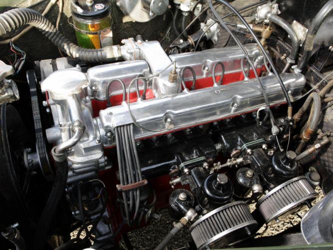 1956 Lagonda 3-Litre 4-door Sports Saloon Tickford luxury retro engine b wallpaper