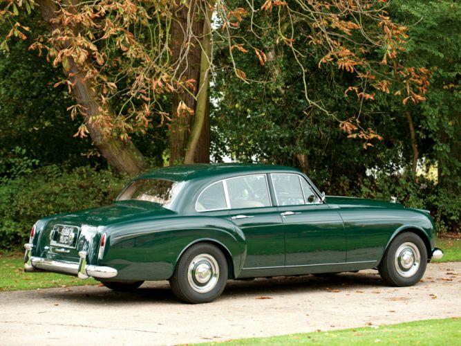 1959 Bentley S2 Continental Flying Spur Mulliner retro luxury interior s-2 gd wallpaper