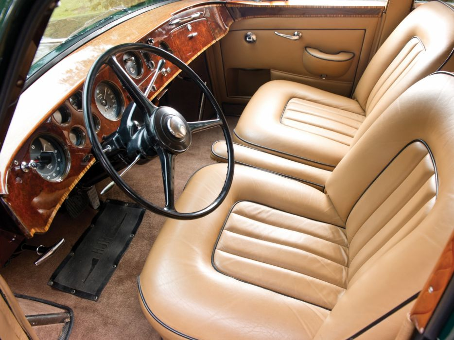 1959 Bentley S2 Continental Flying Spur Mulliner retro luxury s-2 interior       g wallpaper