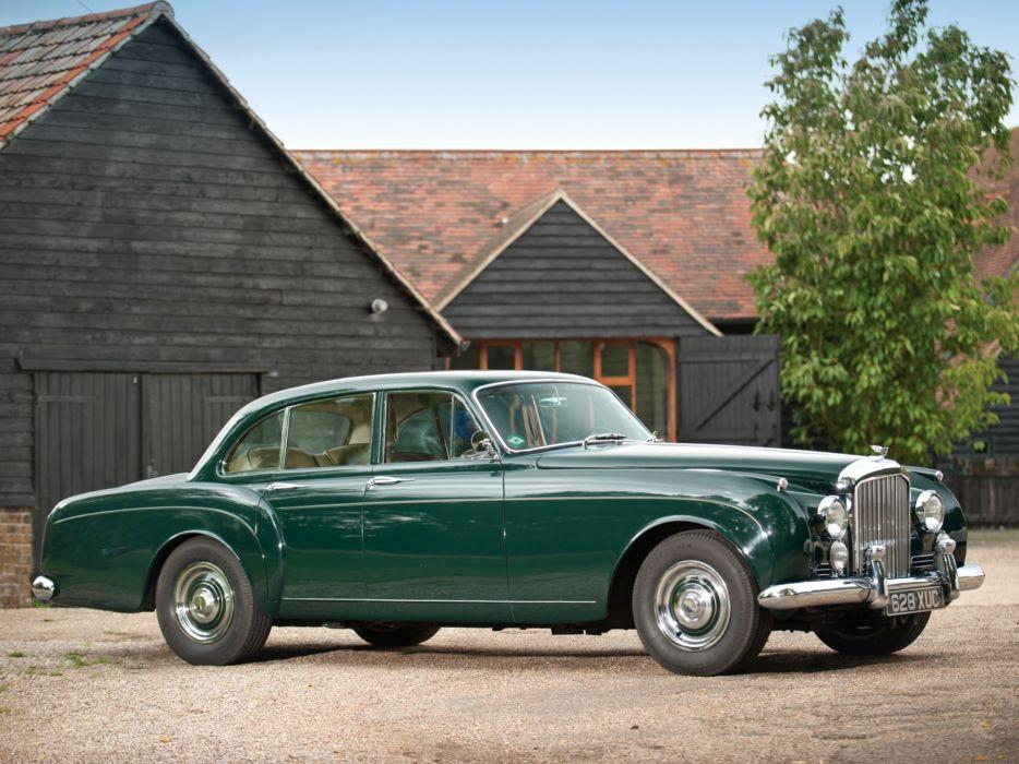 1959 Bentley S2 Continental Flying Spur Mulliner retro luxury interior s-2  g wallpaper