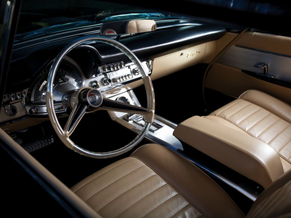 1960 Chrysler 300F Hardtop Coupe classic interior        g wallpaper
