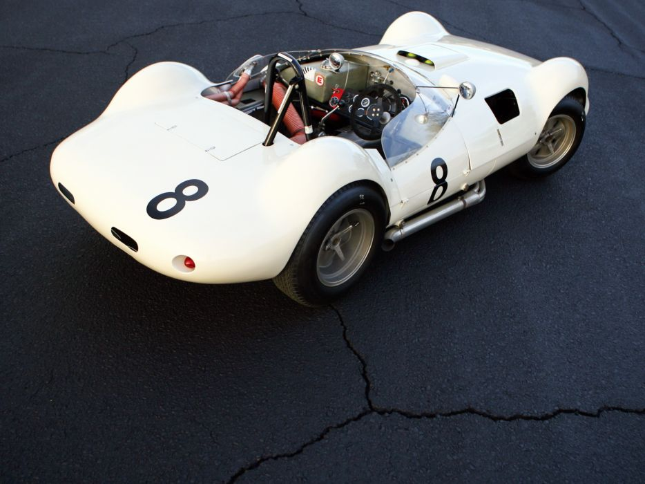 1961 Chaparral 1 supercar race racing classic        g wallpaper